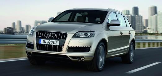 AudiQ7: Fahrzeugtechnik für die autogerechte Stadt von gestern (Bildquelle: Audi Media Services)