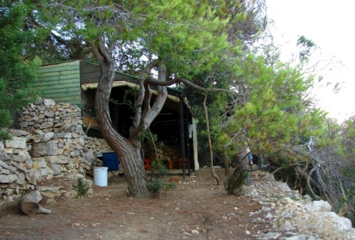 Öko-Hütte im Weinhang